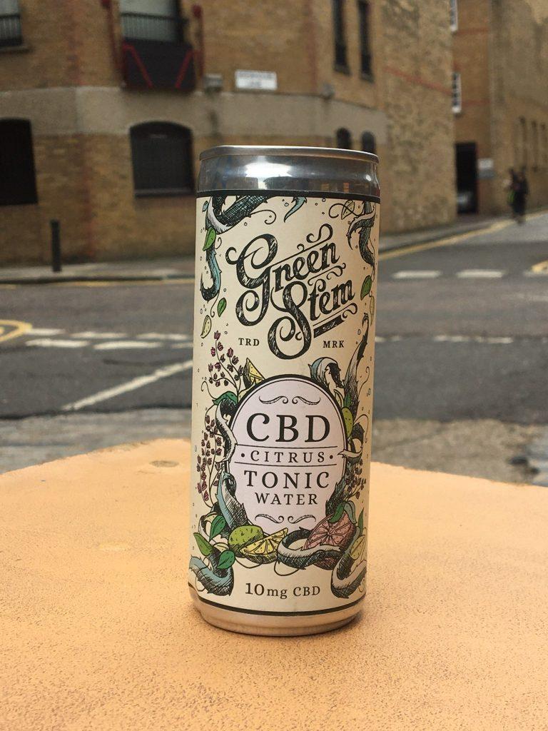 Green Stem CBD Tonic Water